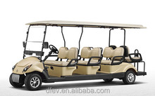 Multi-functional 8 passengers electric golf cart cheap personal transporter