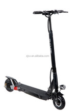 Cxinwalk newest foldable electric push scooter with rear hub break/full aluminum 8inch wheel folding push scooter
