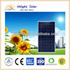 Poly solar panel 280W photovoltaic module with competitive price with TUV, CEC, IEC, CE, ISO approval for 5KW/10KW solar system