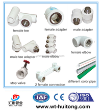 Hot and Cold Water PPR Names Pipe Fittings