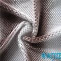100% poliéster beberg corante spray weave do jacquard tecido de flanela