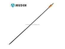 Musen wholesale shooting archery glassfiber arrow with changeable head