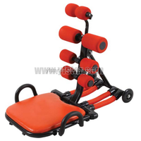 popular manual total core ab exercise machine bodybuilding equipment seen TV