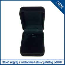 2015 Hot Sale Jewelry Wholesale China Yiwu Black Pendant Boxes For Jewelry