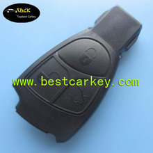 TopBest 3 buttons smart car key blanks for key blanks mercedes keys with a circle on the backside