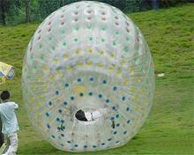 Popular inflatable zorb ball ramp sale