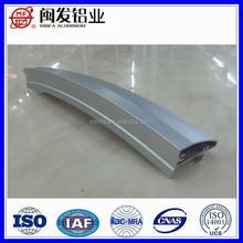 Anodized extrusion aluminium profile of shower door