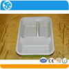 children pp plastic food tray with 3 compartments