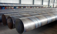 Spiral steel pipe with good quality and price,we can customized Q345 steel material if you have large order