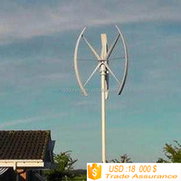 vertica axis wind generator 3kw/5kw/10kw