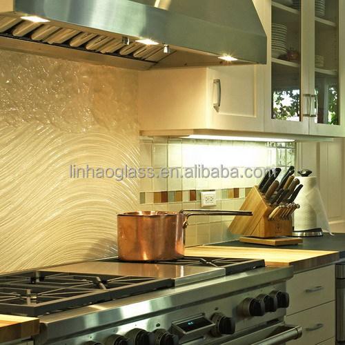 tempered art glass kitchen backsplash fusion glass kitchen splash