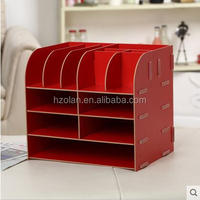 desktop Multilayer- wooden file holder beautiful Hand made decorations