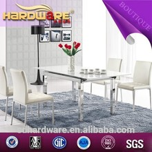 juego de comedor de diseño moderno mesa de comedor extensible