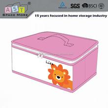 Folding Cartoon make toy storage box with lid