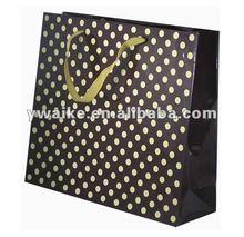 dot customized kraft paper bag