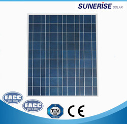 high efficiency good price 70w poly solar panel for home use ,camping