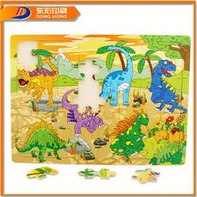 Dinosaurs Rc Jigsaw,Cube Fun 3D Puzzle,Toy 3D Paper Puzzle