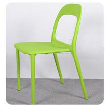 C49 verde apilable silla de comedor de plástico and round