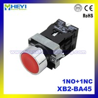 push button switch micro XB2-BA45 Red emergency 1NO+1NC 22mm IP65 electrical push button