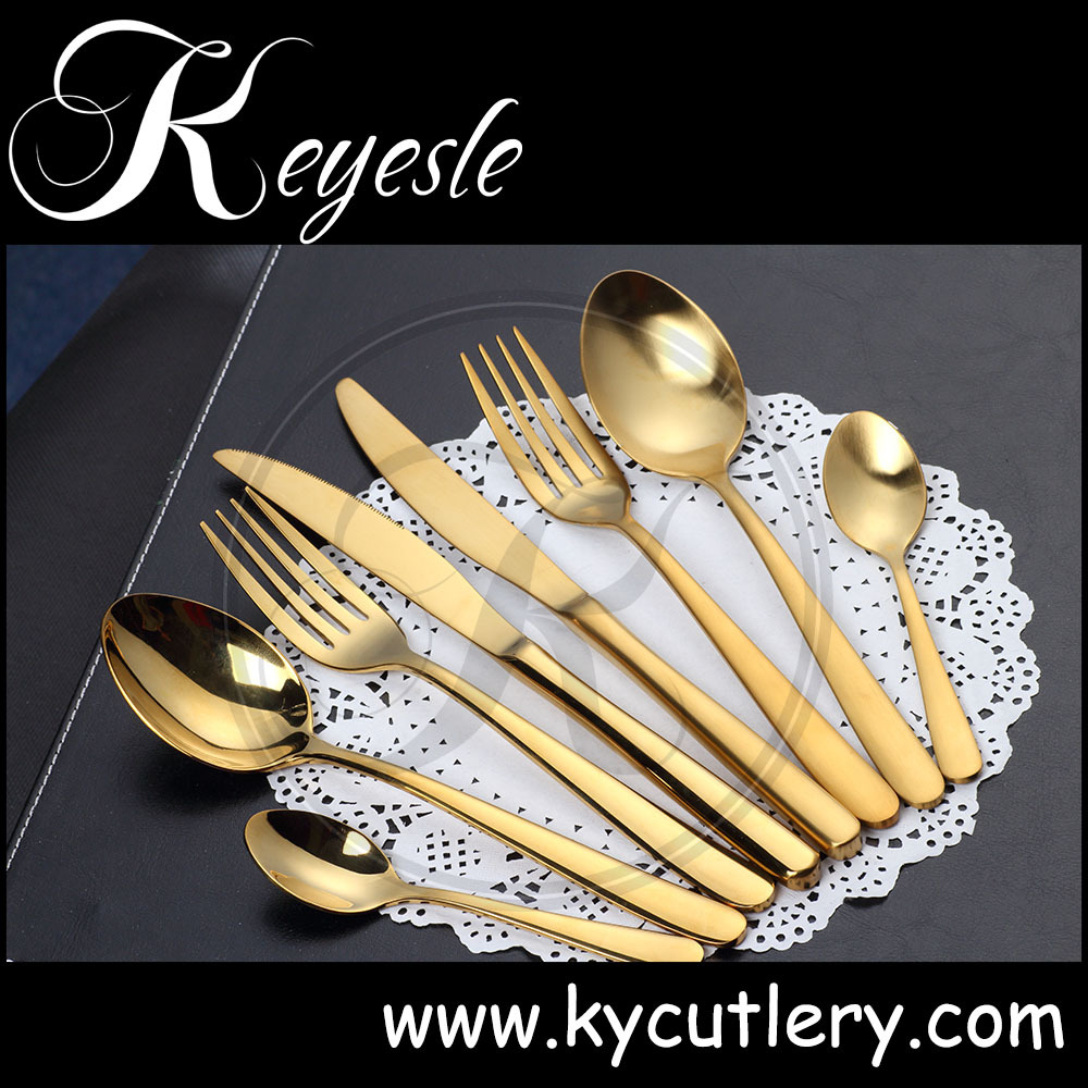 Gold Plated Cutlery Set uk Gold Plated Flatware Sets,bulk