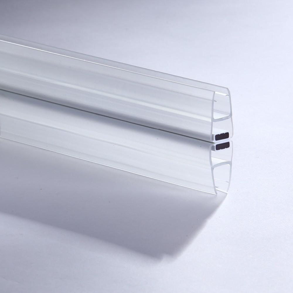 transparent pvc weather strip 4mm 5mm 6mm 8mm 10mm 12mm thickness glass shower door seal strip. Black Bedroom Furniture Sets. Home Design Ideas
