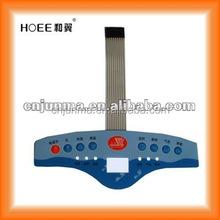 Lexan PC membrane switch panel keypad tactile buttons