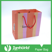 Full Color Offset Printing Recycled Retail Paper Shopping Bags