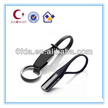 Cheap New engraved Popular smart custom metal key chain factory