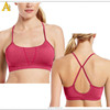 Never Crack printing Breathable soft dry fit Supplex sports bra