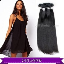 New arrival popular style Top quality with hot sale price 100% remy Brazilian virgin straight hair weaving
