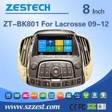 Zestech multimidea car headrest mount portable dvd player For BUICK LACROSSE 09-12 support SWC DVR Phone book 3G Wifi Mp3 /4