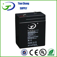 SMF 6v 7ah rechargeable lead acid battery 6v 6ah sealed lead acid battery 6 volt toy car batteries