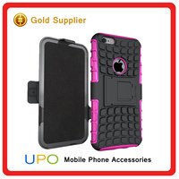 3 in 1 Armor KickStand TPU PC Combo Case Cell Phone Covers for iphone 6