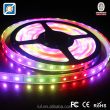rgb led strip 5050 with chase mode, rgb led light strip wifi controller waterproof 5V 24V