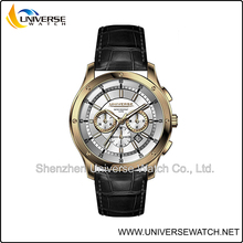 Shenzhen China stainless steel watch supplier with Japan or Swiss movement at high quality