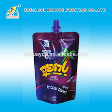 2015 New Hot Sale Doypack Bags with Spout, Spouted Doypack Pouch