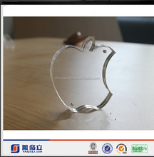 Clear Acrylic Apple Shaped handmade Photo Frame