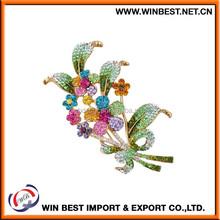 2015 High quality wholesale fashion bulk brooch