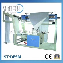 Fabric Double Folding And Sewing Table With Tension Control