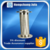 quick connect fittings flange stainless steel 304 flexible braided hose tube pipe