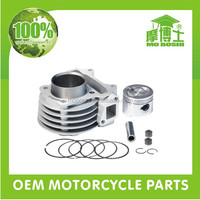 Aftermarket engine big bore kit for 50cc moped