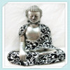 Resin Sitting and Closing Eyes Hindu God Craft for Home Decoration