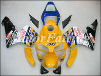 fairing for Honda CBR600RR F5 ABS fairing 2004 CBR600RR F5 03 04 bodykit CBR 600 RR 03 04 F5 bodywork yellow white blue black