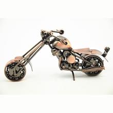 Negozi online cinese vintage moto modello di ferro speciale mestieri desktop moto modello di ferro per la raccolta& decorazione