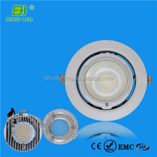 Hot Sales! led rotatable 13mm ultra thin 3w cutout 70mm round led downlights