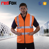EN471 winter safety vest reversible working uniform