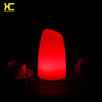 Plastic Luminous LED Table Lamp Bar Decorative Night Light Holiday Landscape Lighting