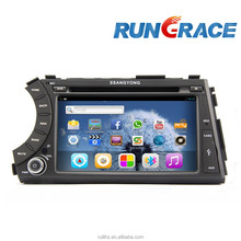ssangyong actyon rexton android 4.2.2 car dvd player with wifi navigation