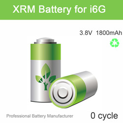 Top Quality 1800mAh Battery for iPhone6 Battery 3.8V 1 Year Warranty