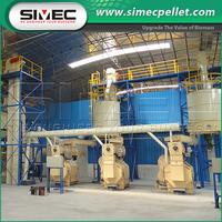 Chinese Products Wholesale peanut shell rice husk wood biomass pellet making machine
